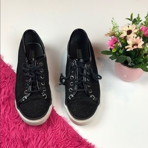Sperry Top Sider Seacoast Caviar Black Sneakers